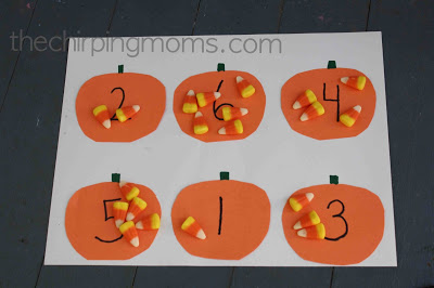Candy Corn Counting : The Chirping Moms