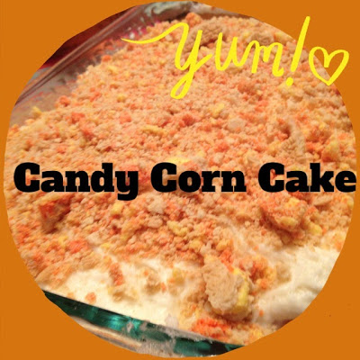 Candy Corn Cake : The Chirping Moms