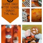 3 Fun & Easy Fall After School Snacks!