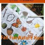 Fall Fun Nature Hunt (Printable)
