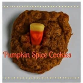Easy Pumpkin Spice Cookies