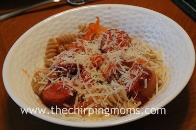 Kielbasa Sausage and Peppers Pasta : The Chirping Moms