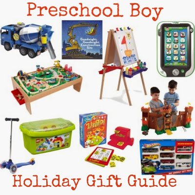 Preschool Boy Holiday Gift Guide : The Chirping Moms