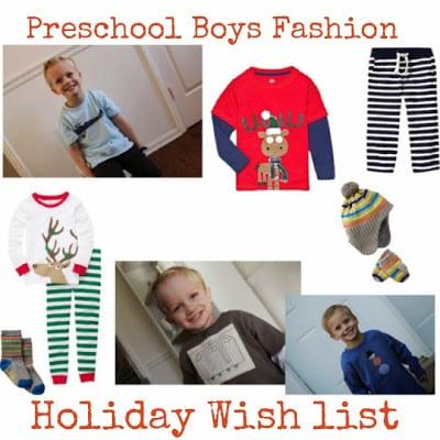 Preschool Boy Holiday Gift Guide!