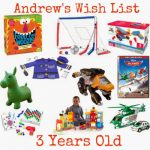Preschool Boy Holiday Gift Guide!