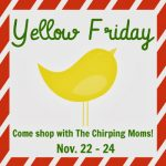 Preview of Yellow Friday, our Holiday Shopping Event!