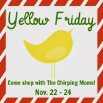 Our Yellow Friday Deals and Ultimate Giveaway!