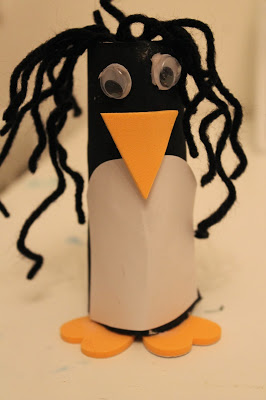 Toilet Roll Penguin Craft || The Chirping Moms