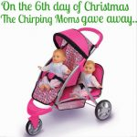 The 12 Days of Toys: Day 6, Graco Doll Stroller