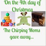 The 12 Days of Toys:  Day 4, Natural Toy Prize Package!