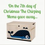The 12 Days of Toys:  Day 7, Whale Toy Chest
