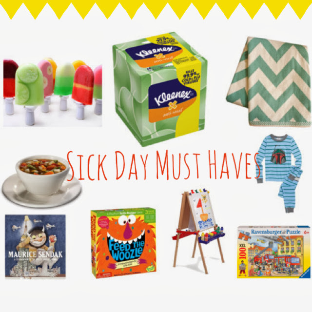 Sick Day Must Haves || The Chirping Moms