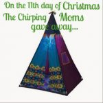 The 12 Days of Toys:  Day 11, B Toys TeePee