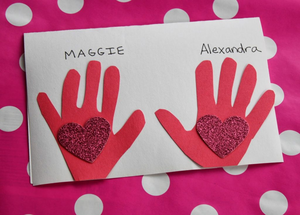 Valentine's Day Kid Craft : The Chirping Moms