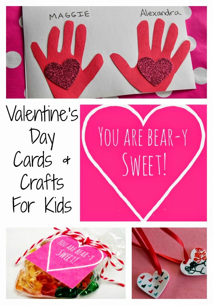 8 Valentines Day Cards and Crafts for Kids The Chirping Moms – Images for Valentine Day Cards