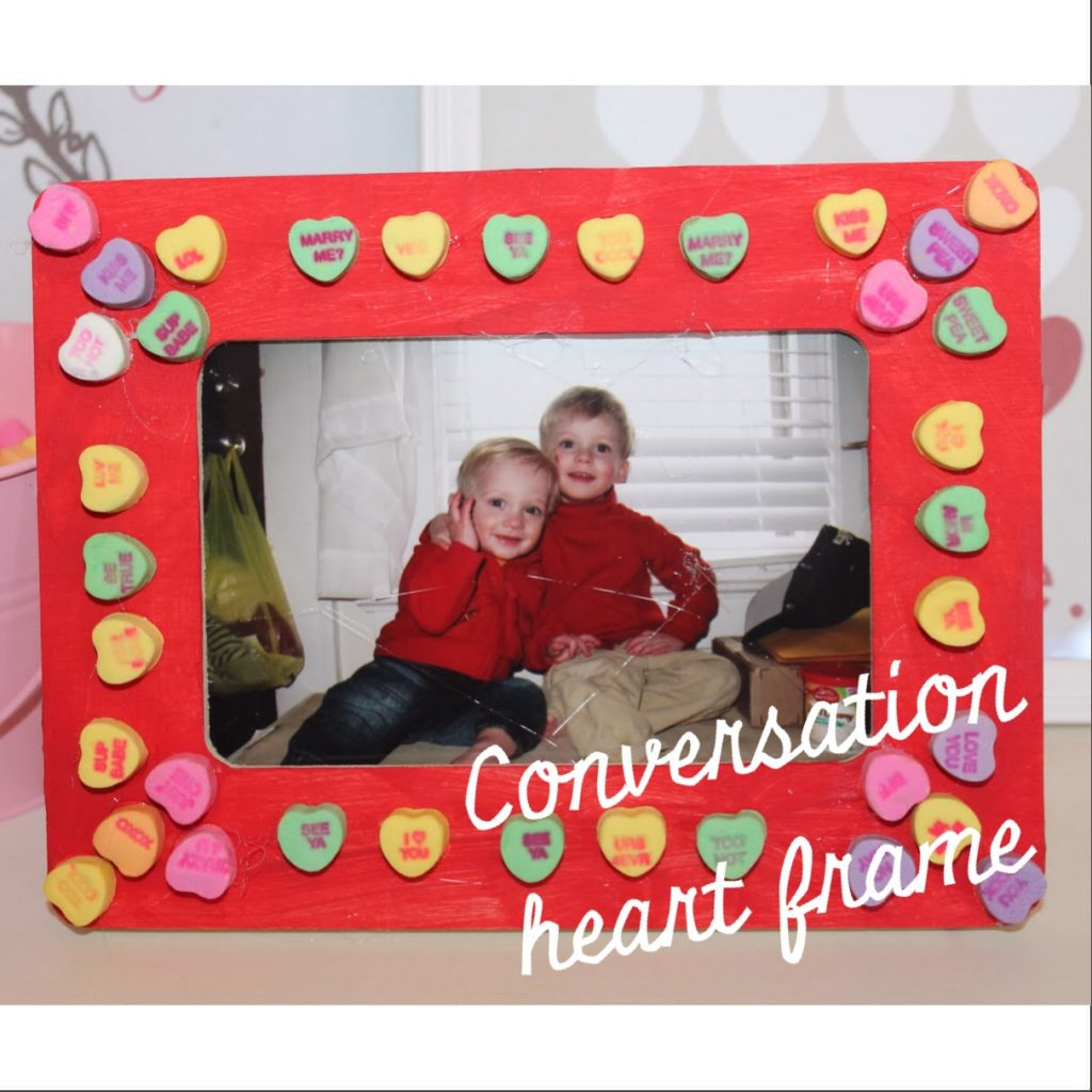 Valentine's Day Conservation Heart Frame : The Chirping Moms