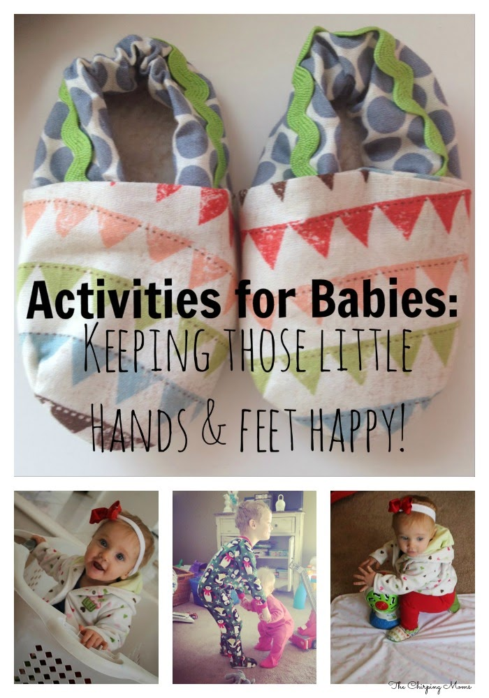8 Fun Activities for Babies || The Chirping Moms