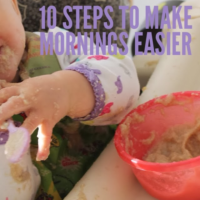 10 Tips to Making Mornings Easier    The Chirping Moms