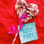 Easy Valentine Popcorn Treats (with Free Valentine Printable)!