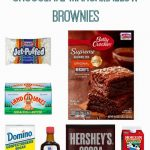 Super Easy Chocolate Marshmallow Brownie