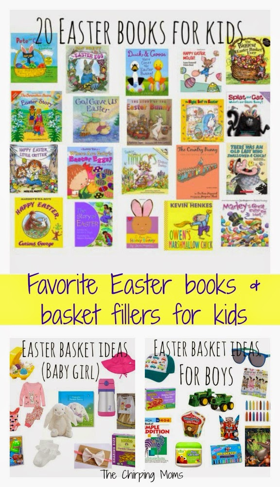 Favorite easter basket ideas and easter books for kids the favorite easter basket ideas and easter books for kids the chirping moms negle Gallery