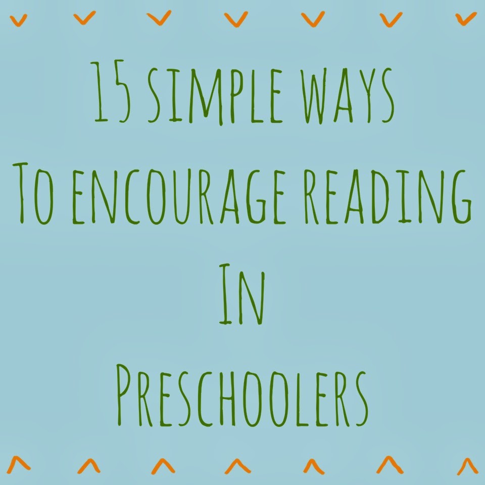 Simple Ways to Encourage Reading in Preschoolers || The Chirping Moms