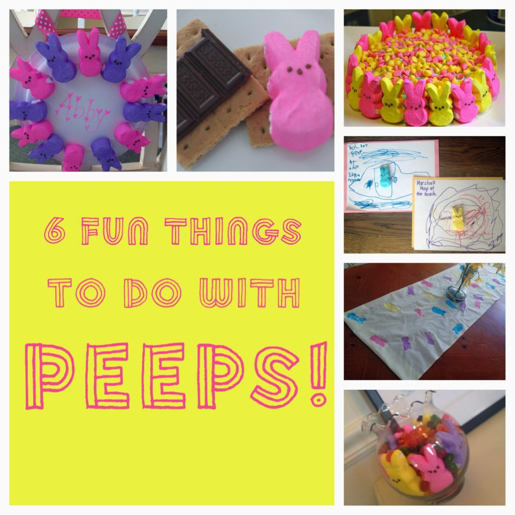 Fun with Easter Peeps || The Chirping Moms