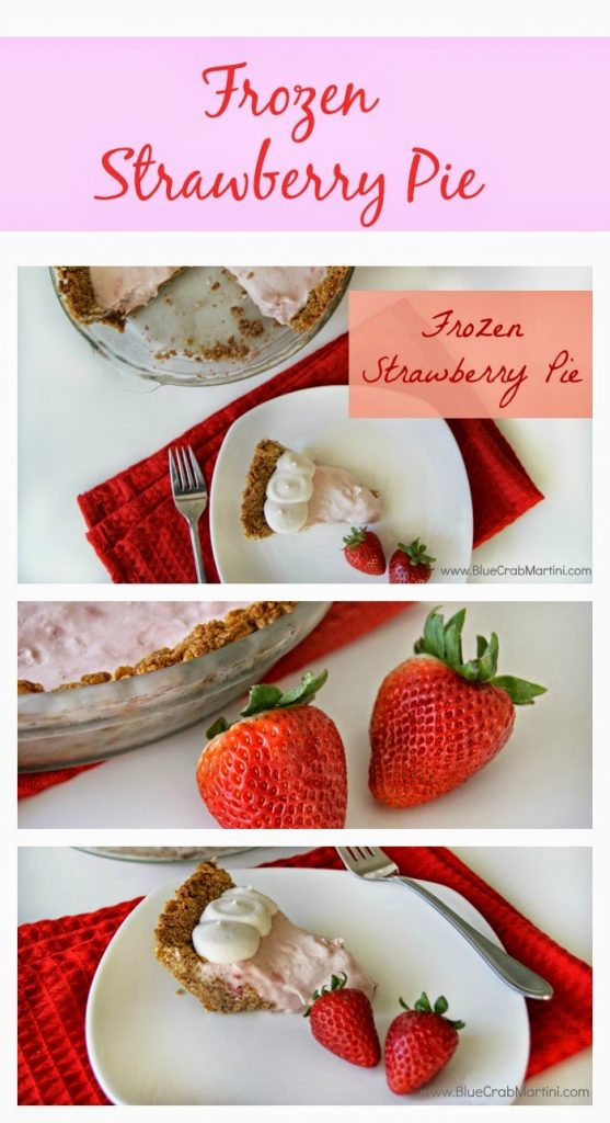 Frozen Strawberry Pie Recipe