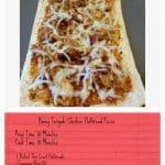 Honey Teriyaki Chicken Flatbread Pizza