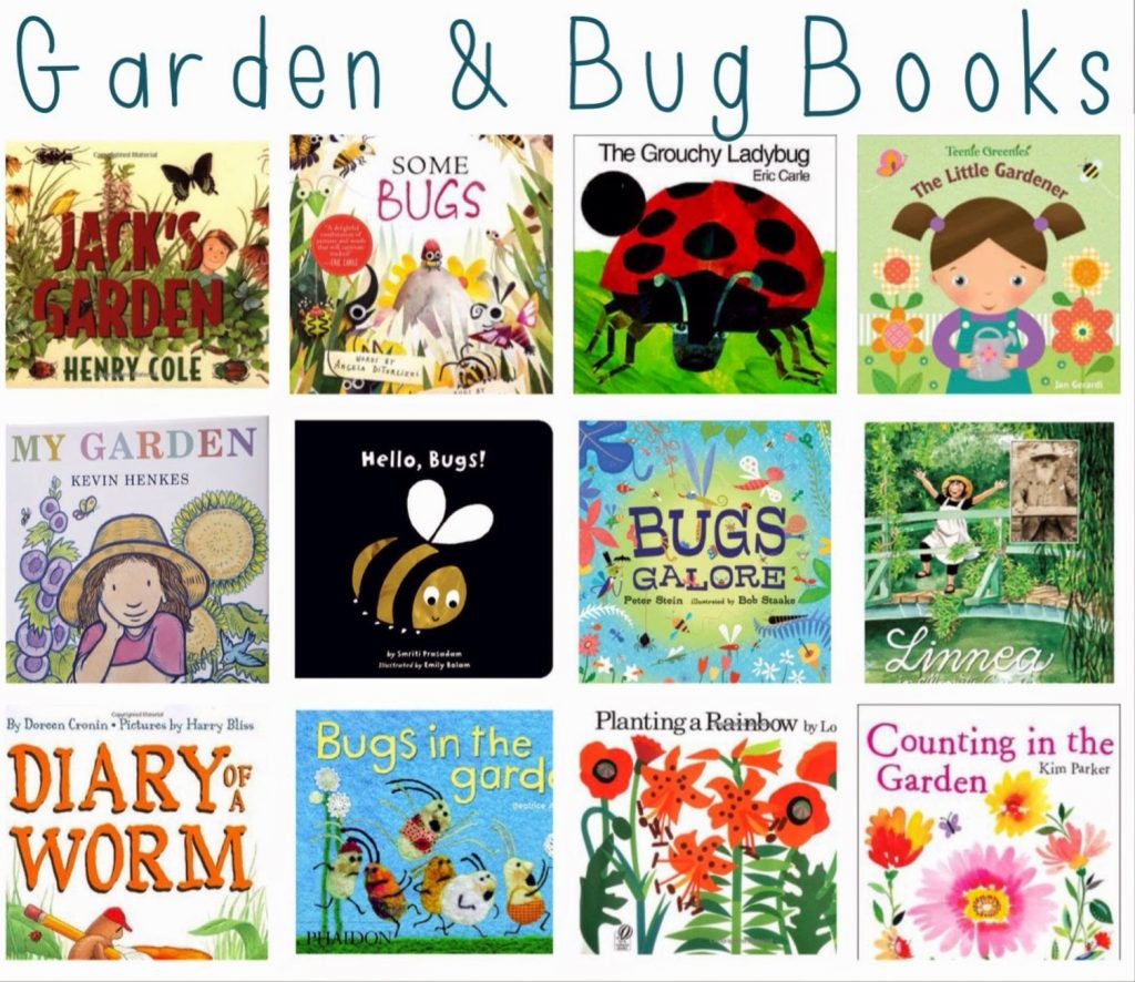 Springtime Books for Kids || The Chirping Moms