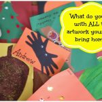 Save the Memories, Not the Clutter :  Creating a Preschool Memory Scrapbook