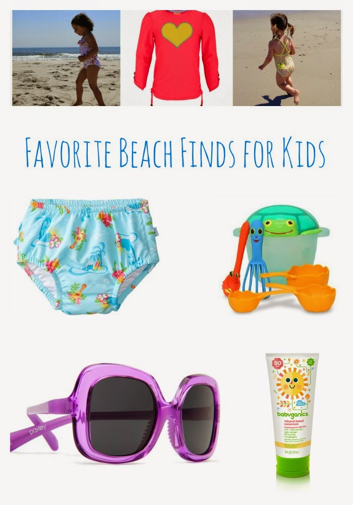 5 Beach Favorites for Kids || The Chirping Moms