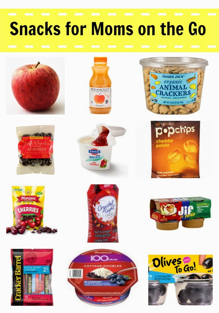 Snack Ideas for Moms on the Go II The Chirping Moms