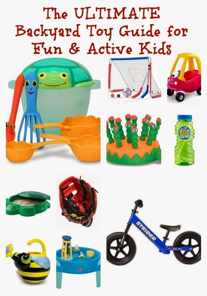 The Ultimate Backyard Toy Guide for Fun & Active Kids || The Chirping Moms