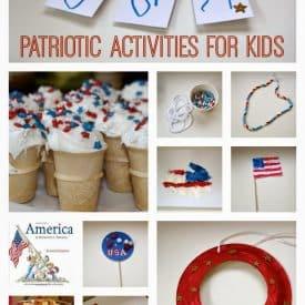 Patriotic Activities for Kids!