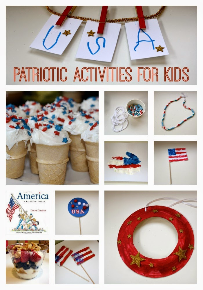 Patriotic Activities for Kids || The Chirping Moms