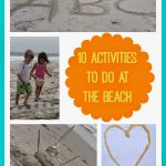 10 Activities to Do at the Beach