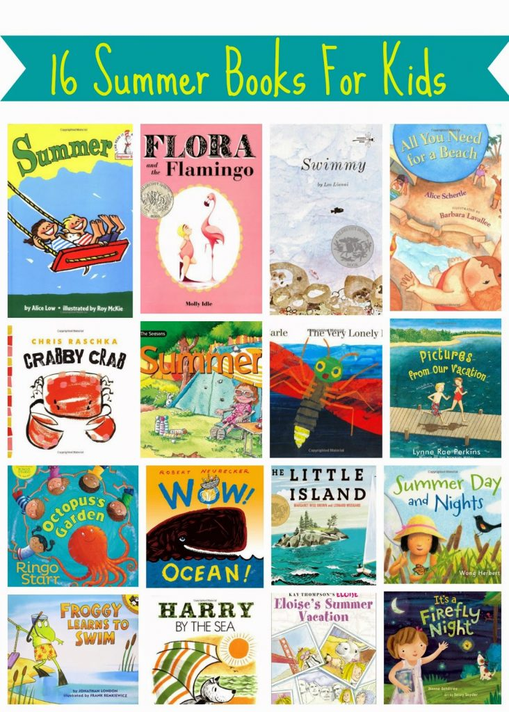 Summer Books for Kids || The Chirping Moms