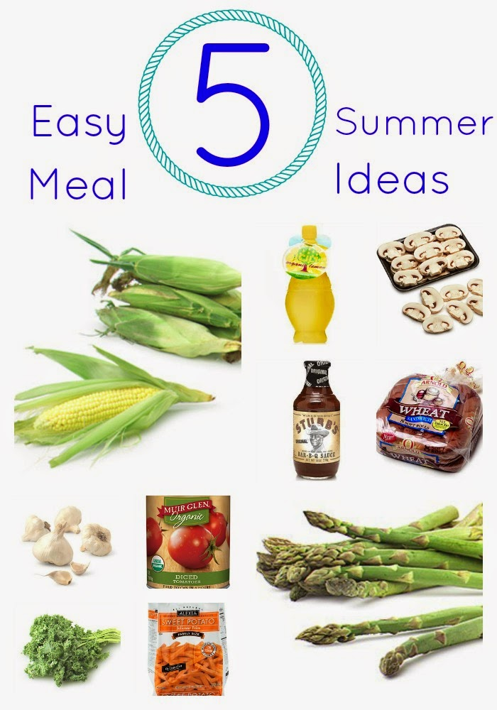 Favorite Simple Summer Meals || The Chirping Moms