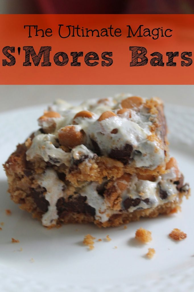 Ultimate Magic S'Mores Bars || The Chirping Moms