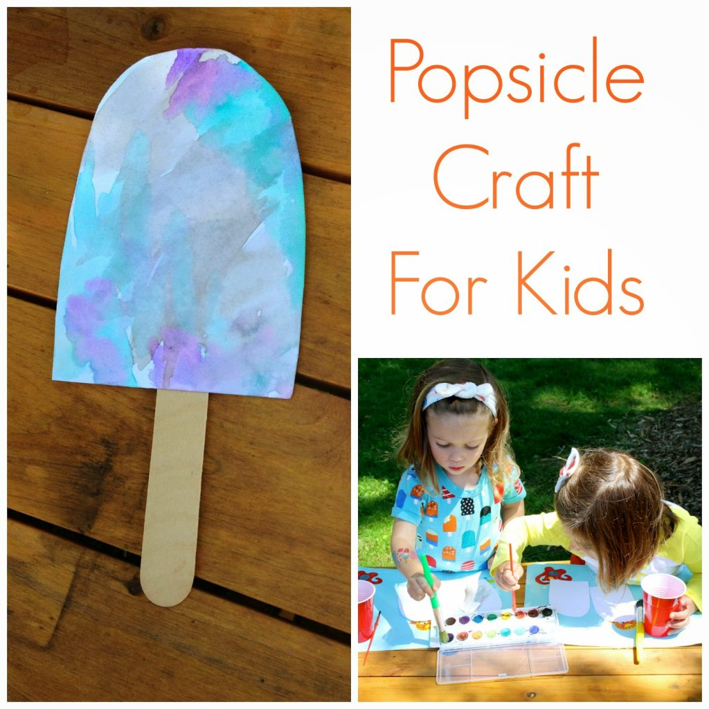 Summer fun with popsicles the chirping moms for Popsicle crafts for kids