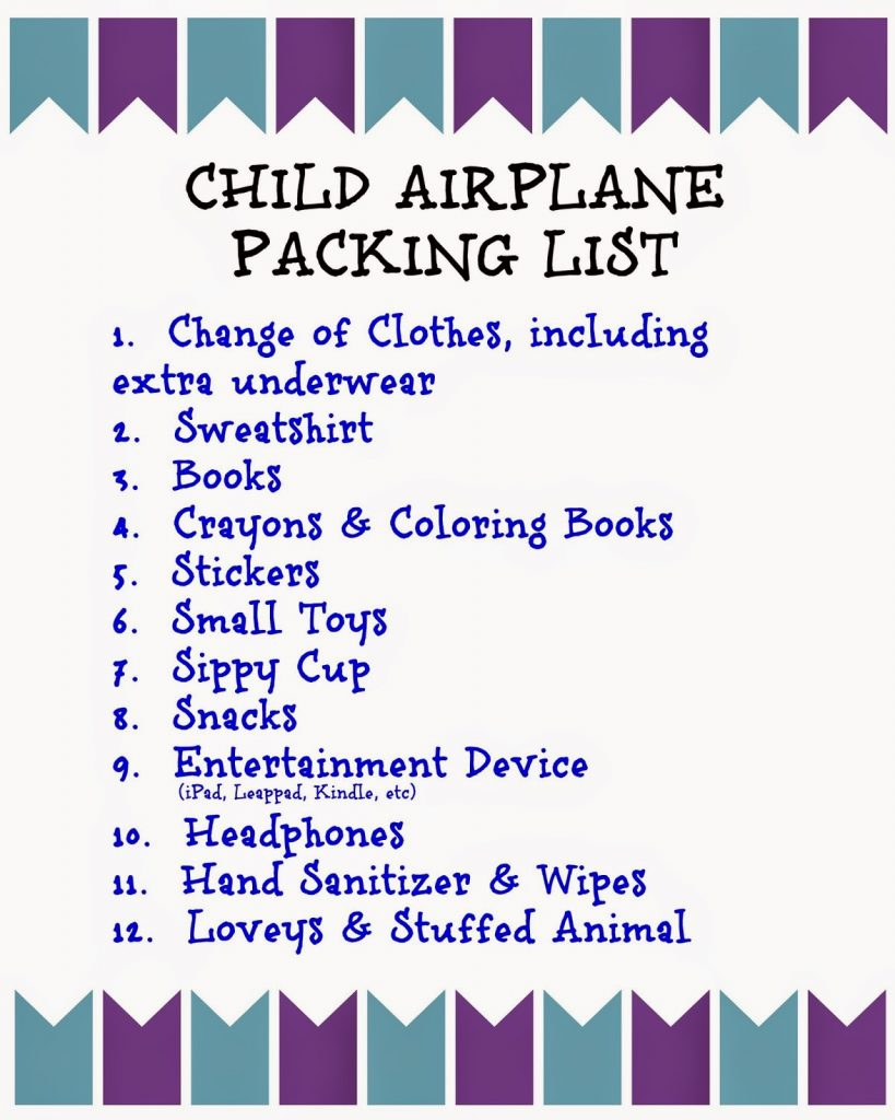 36010b1a829d Flying with Children  Tips and Printable Packing Lists for Kids ...