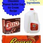Chocolate Peanut Butter Cup Ice Cream Recipe
