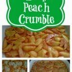 The Best Peach Crumble: An Easy Summer Recipe