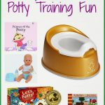 Ways to Make Potty Training Fun {& This Week's Giveaway}