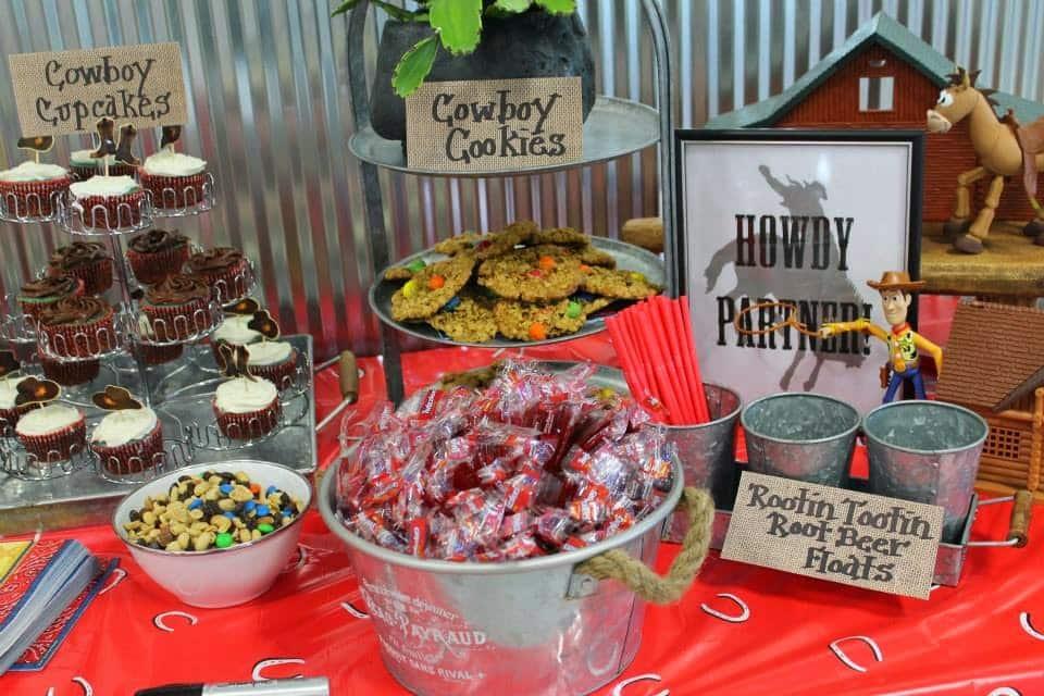 Wild West Birthday Party Desserts