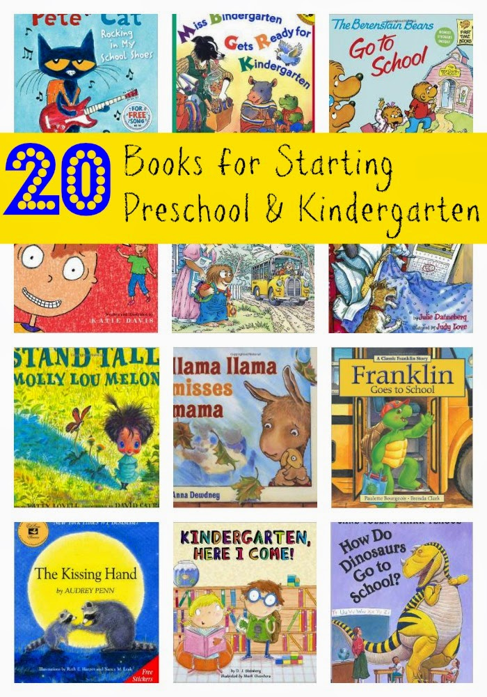 20 Back to School Books