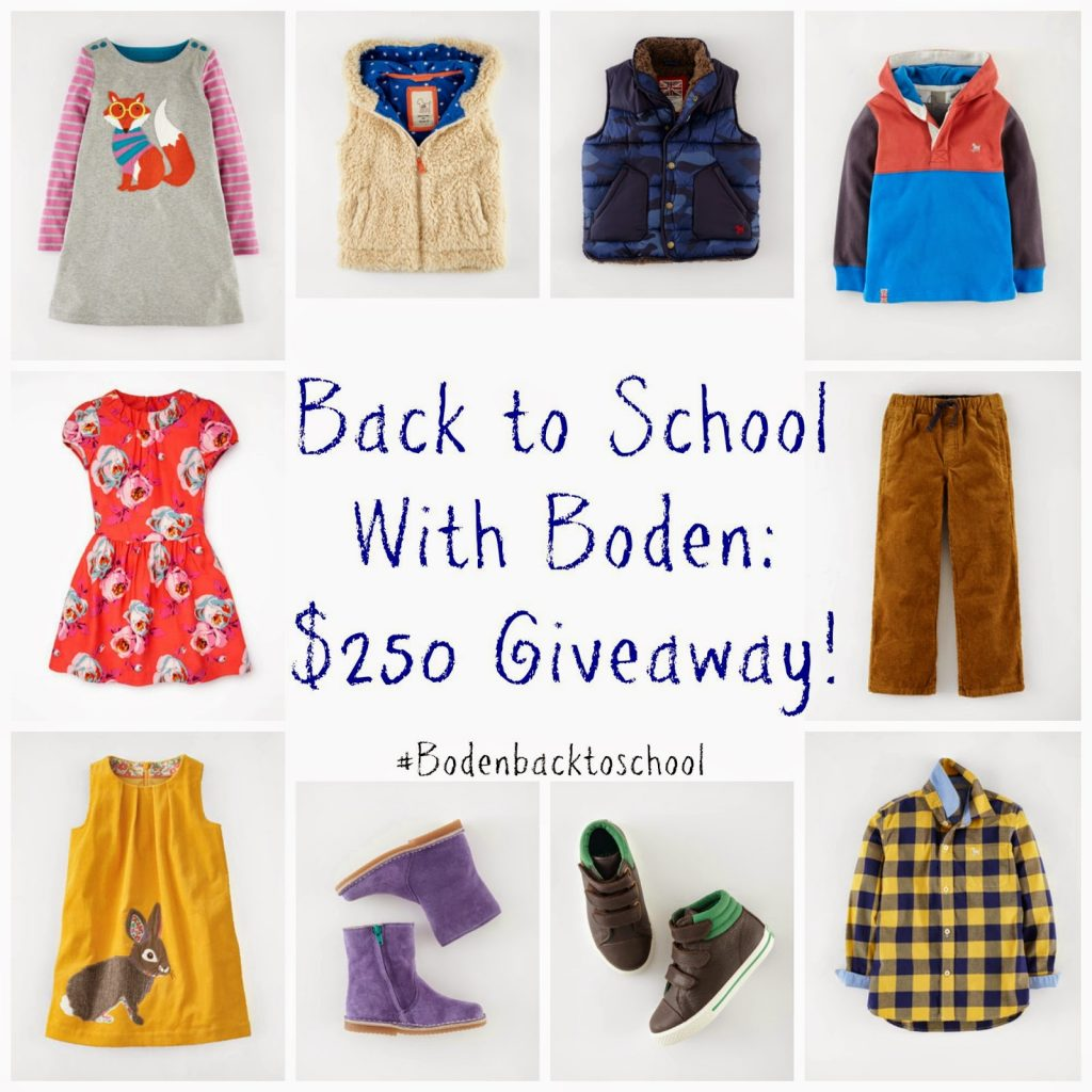 Back to School with Boden