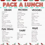 Packed Lunch Box Ideas (Free Printable) & Favorite Lunchbox Tools