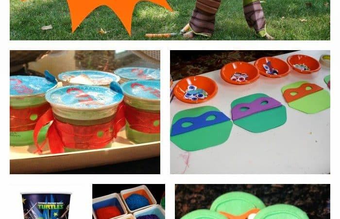 The Ultimate Teenage Mutant Ninja Turtles Party!
